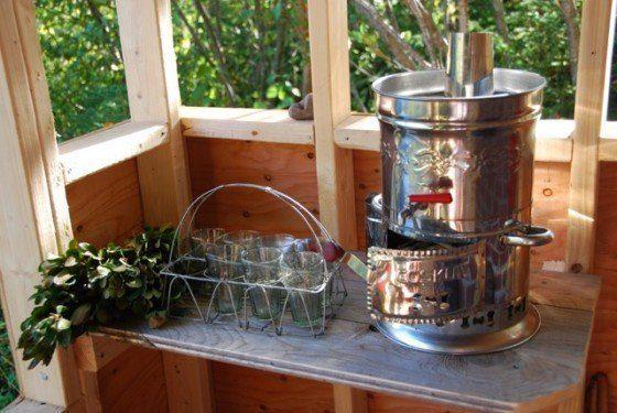 sauna beverages