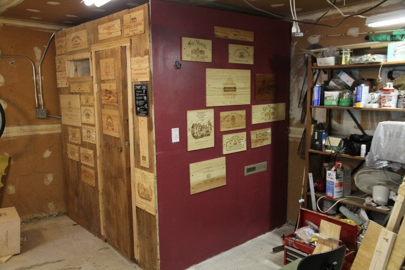 nice garage sauna #5: Kenu0027s garage sauna ready for action.