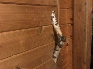 Show us your custom sauna door handle contest!