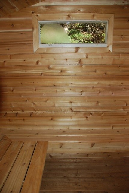 sauna hot room