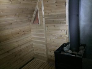 A cluttered storage shed in Northern Minnesota gets turned into an authentic sauna