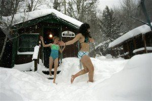 The Best Bad Weather For A Sauna