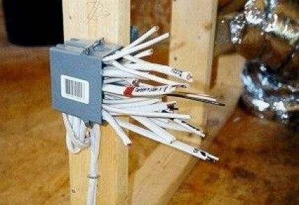 Home cable wiring installation