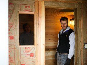 The sauna building journey helps the sauna builder enjoy the destination