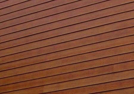 Stained Hardiplank siding example.