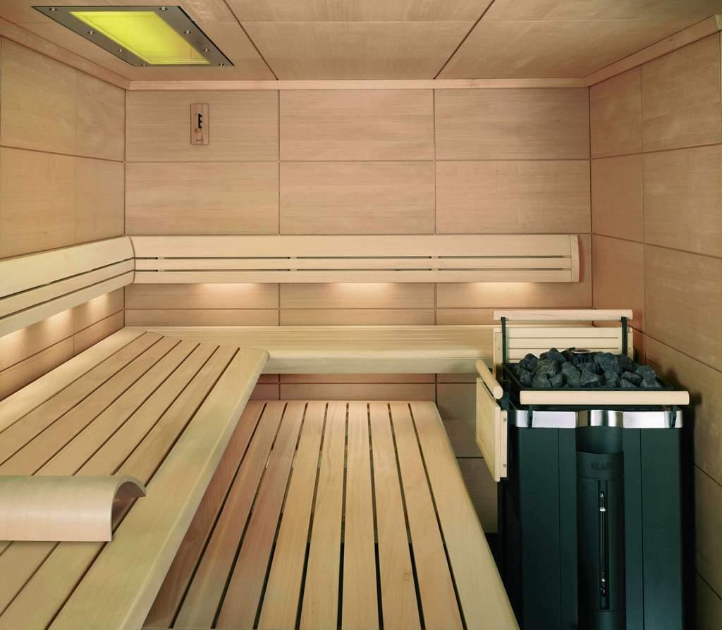 Uptown Spa sauna, Toronto, Ontario