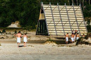 World largest sauna built on a small island in Northern Norway